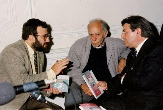 7 Alencart, Romualdo y Salvado (Castelo Branco, 1998. Foto de Jácqueline Alencar)