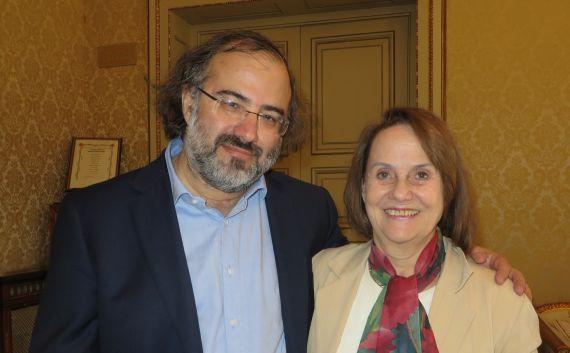 7 Alfredo Pérez Alencart y Renée Ferrer (foto de Jacqueline Alencar)