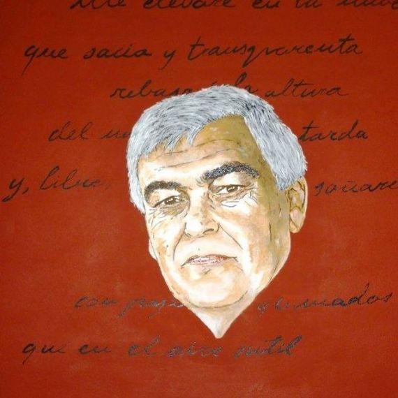 9 Luis Natera retratado por Orlando Cabrera Vega