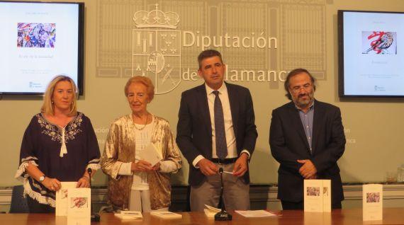 9 Salas, Fernández Labrador, Barrera y Alencart, presentando los libros ganadores(foto de Jacqueline Alencar)