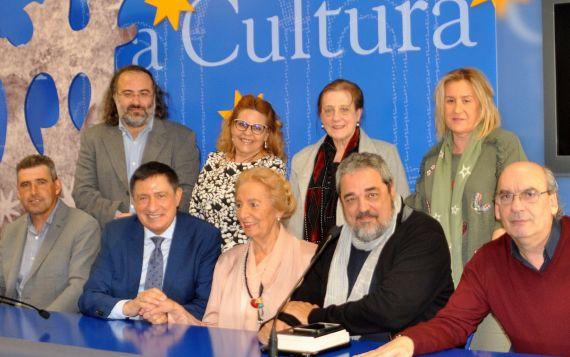 1 Miembros del jurado, Alencart, Pérez Castrillo, Ruiz Barrionuevo, Salas, Barrera, Fonseca, Fernández Labrador, Aganzo y Muñoz Quirós (Foto de José Amador Martín)x