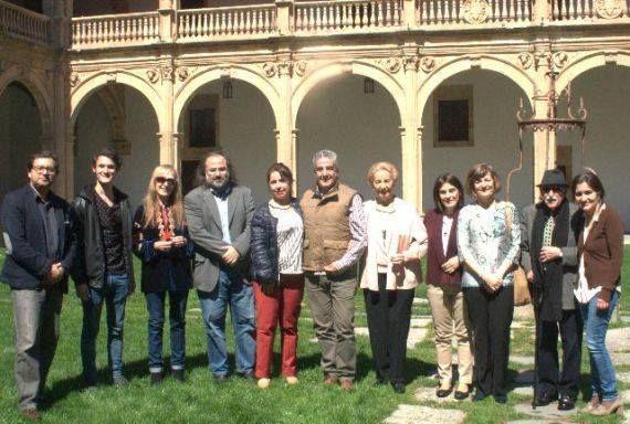10 Actores representando a militares franquistas (foto de José Amador Martín)