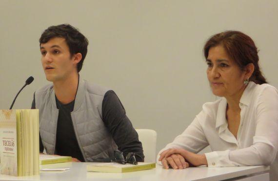 15 Leoman Cunha y Jacqueline Alencar, en el Centro de Estudios Brasileños de la Universidad de Salamanca