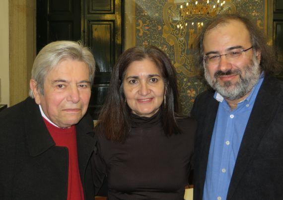 4 António Salvado, Jacqueline Alencar y A. P. Alencar (foto de Abrantes)