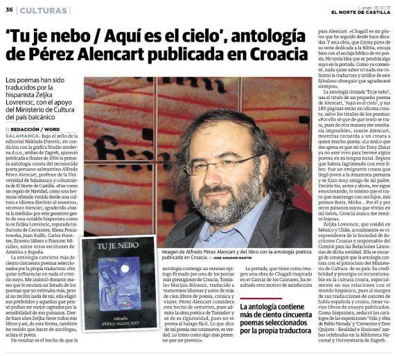 5 Noticia de la antología croata de Alencart