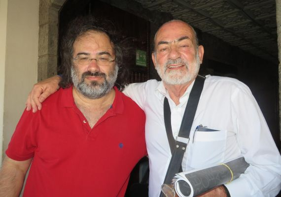 6 A. P. Alencar y OsvaldS sauma, en Nicaragua (Foto de Jacqueline Alencar)