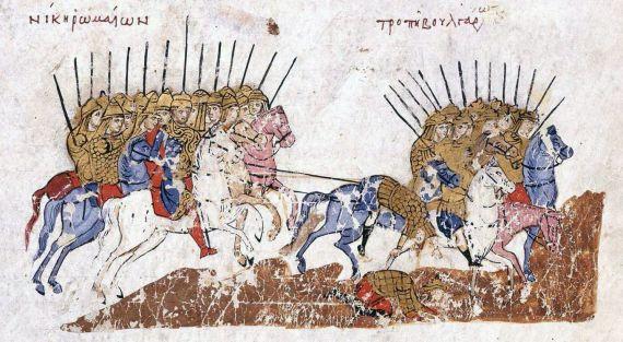 6 Victoria de las tropas bizantinas
