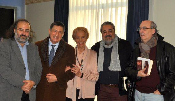 8 Alencart, Fonseca, Fernández Labrador, Aganzo y Muñoz Quirós (foto de José Amador Martín)