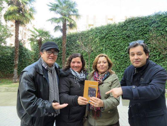 8 Ronald López, Charo Guerrero, Manoli Martín e Iván Salazar, con Gaudeamus (foto de Jacqueloine Alencar)