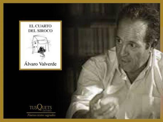 1 Álvaro Valverde y la portada de su poemario
