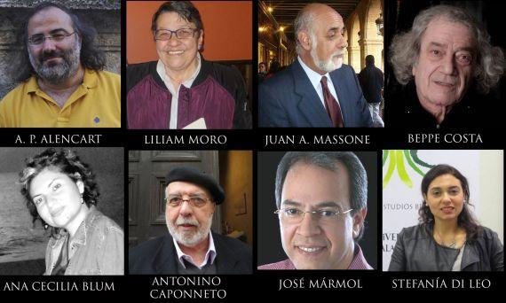1 Miembros del jurado internacional del Premio Aldana