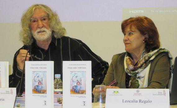 14 Alves de Faria y Leocádia Regalo, en la presentación (foto de J. Alencar)