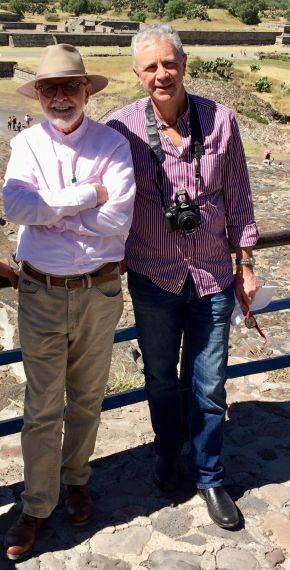 16 David Cortés Cabán y Alessio Brandolini, en México