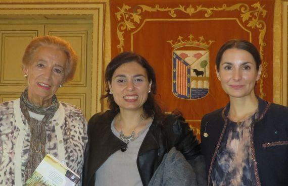 6 Pilar Fernández Labrador, Stefania Di Leo y Carmen Palomo (foto de Jacqueline Alencar)