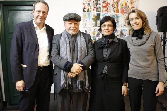 7 Bárbara Garassino, Mayela Barragán, José Pulido y Claudio Pozzani