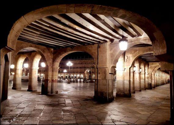 8 Plaza Mayor de Salamanca (foto de José Amador Martín)