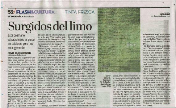 9 Artículo sobre Limo, de Carmen Dolores Hernández
