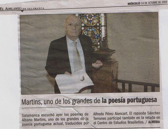 12 Lectura de Albano Martins