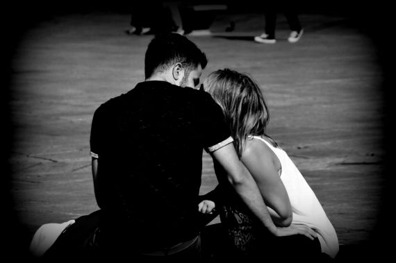 3 Enamorados, fotografía de José Amador Martín