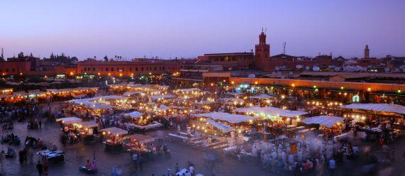3 Plaza Jema-el-Fna, en Marrakech