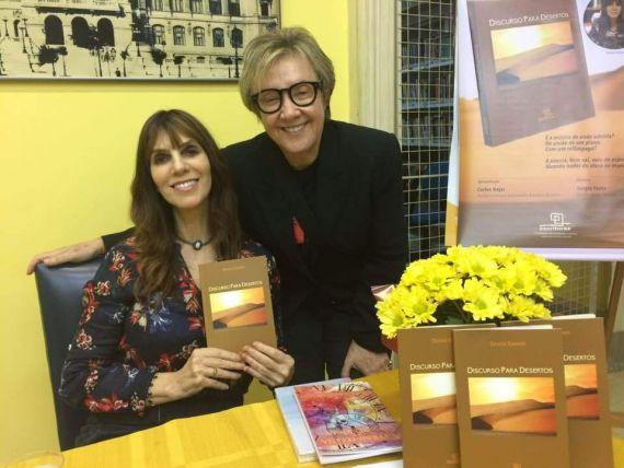 6 Denise Emmer con su nuevo libro