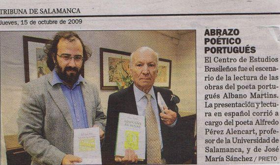 6 Martins y Alencart (rueda de prensa en el rectora de la Usal)