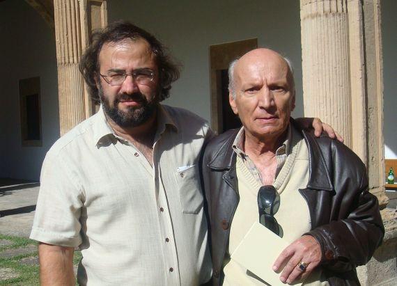 7 Alencart y Albano Martins (Salamanca, 2009. Foto de jacqueline Alencar))