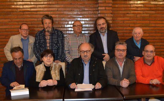 1 Miembros del jurado y de representantes de las cofradías de Peñaranda (foto Salamanca al Día)