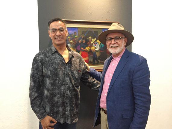 11 Luis Armenta Malpica y David Cortés Cabán)