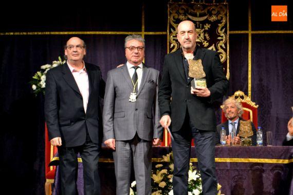 2 José María Muñoz Quirós, Moisés Pérez y Miguel Sánchez Robles (foto Salamanca al Día)