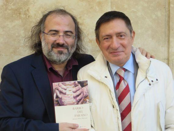 3 Alencart y Fonseca, autor del texto de contraportada del libro