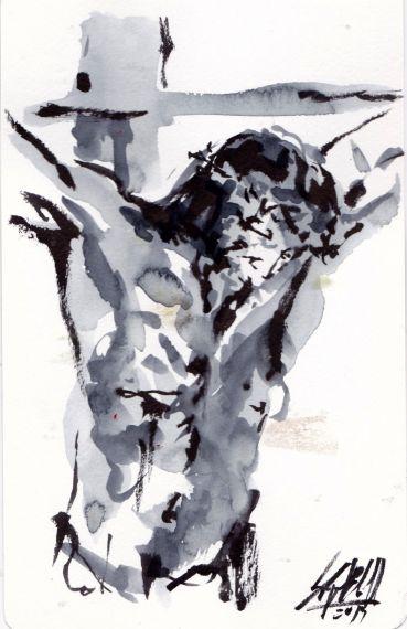 6 Pintura de Miguel Elías para el Colofón
