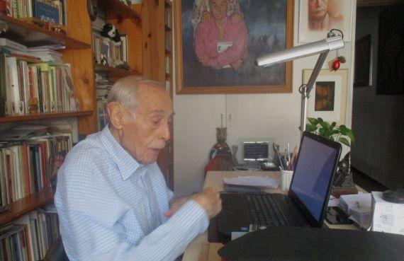 1 Jesús Hilario Tundidor. Foto reciente de Manuel Quiroga Clérigo