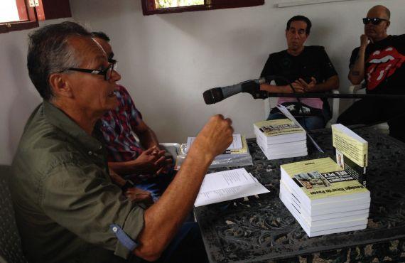 3 Remigio Ricardo Pavón durante la presentación del nuevo libro