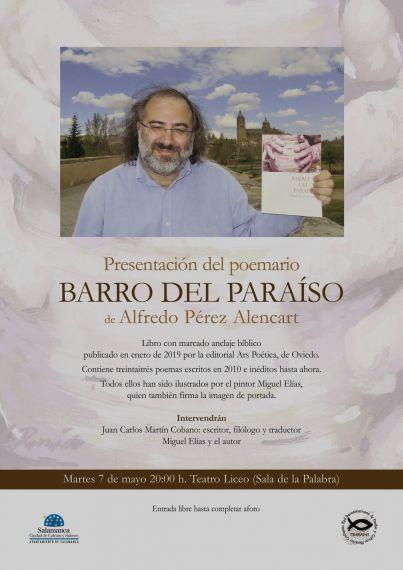 4 Cartel del acto de presentación de Barro del Paraíso
