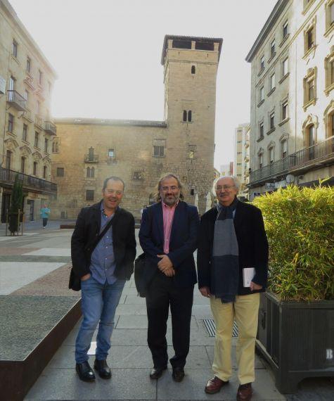 4 Rodríguez, Alencart y Colinas, por la Torre del Aire