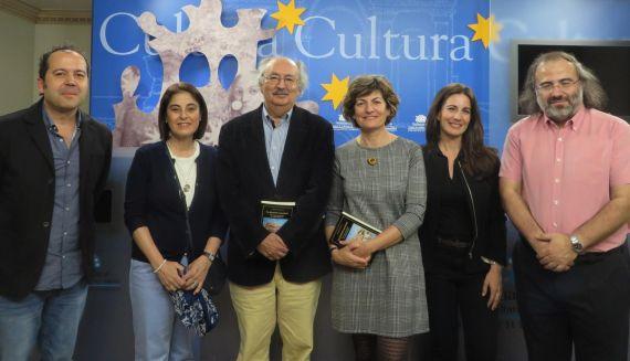 7 Los poetas Rodríguez, Díaz Santana, Colinas, Pérez López, Velasco y Alencary