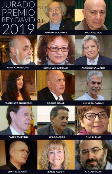1 Jurado del Premio Rey David de Poesía Bíblica Iberoamericana