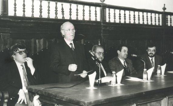 7 Cobo Borda, Ortega Carmona, Baquero, de Vicente y Alencart (Foto de Jacqueline Alencar)