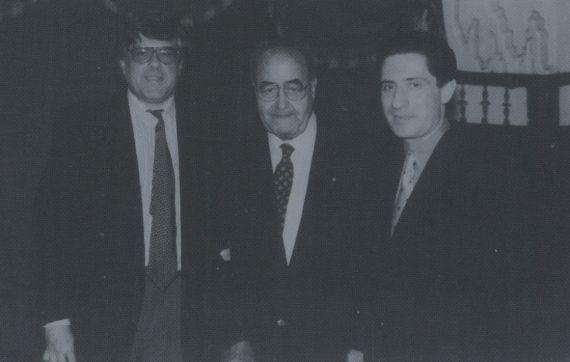 9 Cobo Borda, Baquero y Jesús Fonseca (foto de Jacqueline Alencar)
