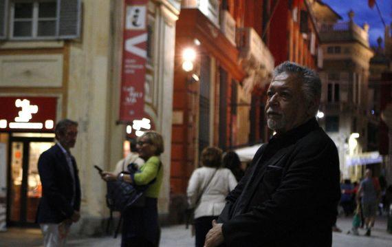 1 José Pulido en la Strada Nuova, foto de Gabriela Pulido