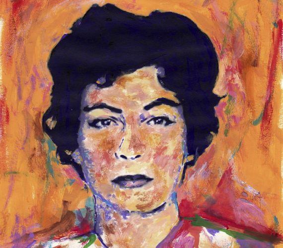 1 Retrato de Eunice Odio (fragmento), obra de Miguel Elías