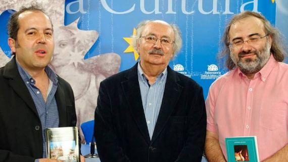 20 Alfredo Rodríguez, Antonio Colinas y A. P. Alencart (La Razón)