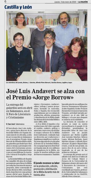28 Premio Borrow (La Razón)