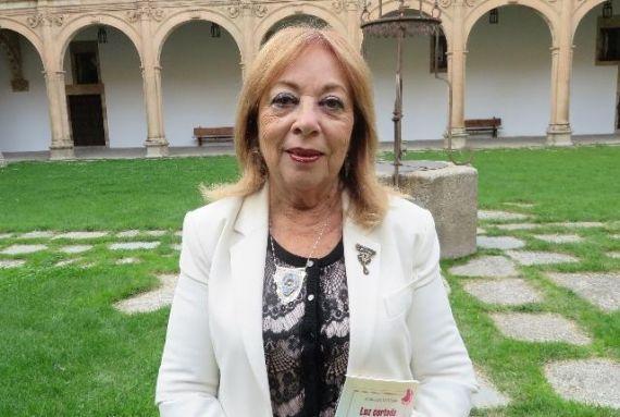 3 La poeta y traductora Margalit Matitiahu en Salamanca (foto de Jacqueline Alencar)