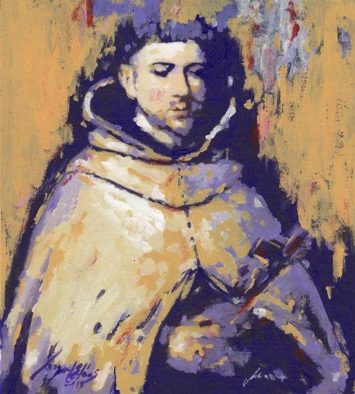 3 Retrato de San Juan de la Cruz, obra de Miguel Elías