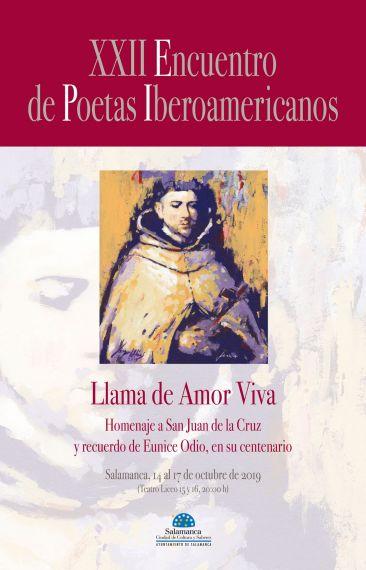Cartel del XXII Encuentro de Poetas Iberoamericanos