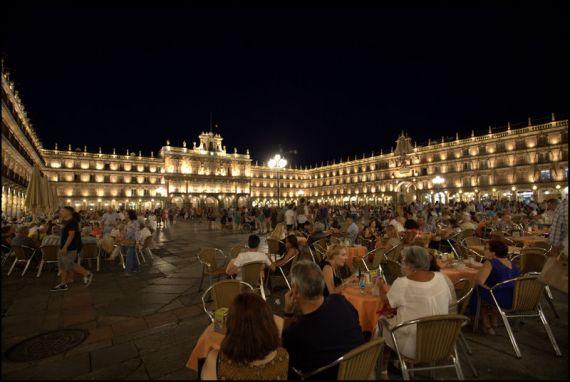 2 Plaza Mayor de Salamanca. Foto de José Amador Martín