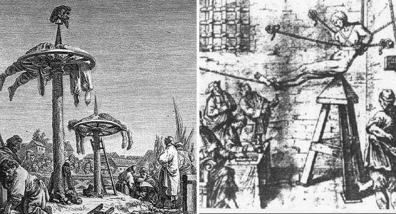 4 Instrumentos de tortura de la Inquisición